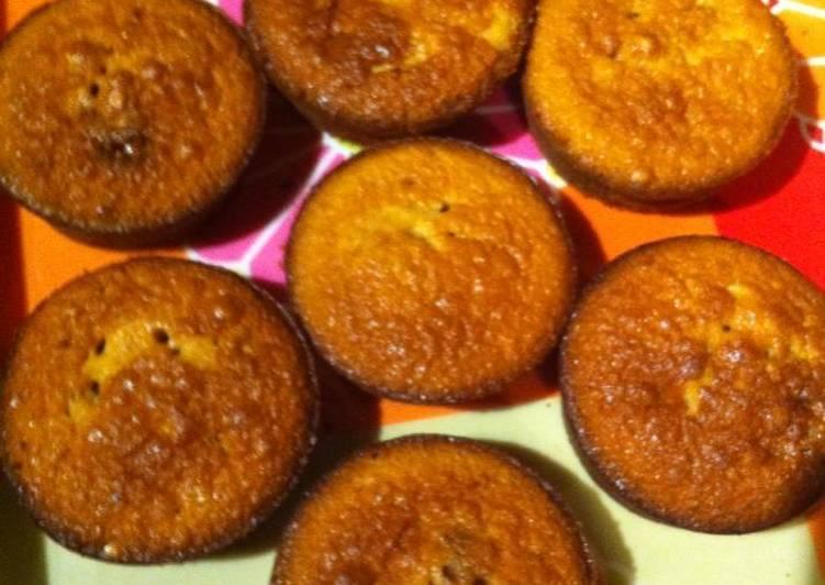 Muffins, cupcakes o quequitos de limón