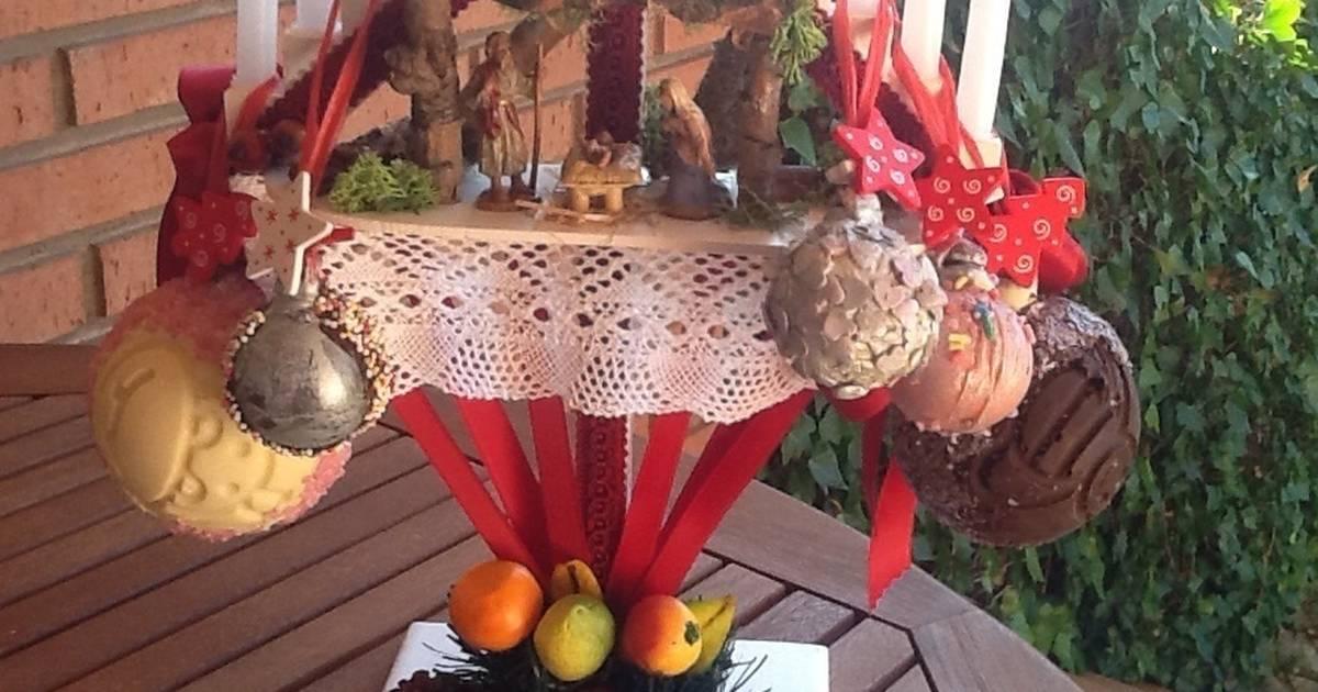Purpurina Roja Para Decorar Bolas Navidad