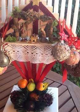 Bolas navidad de chocolate para guardar las uvas de la suerte
