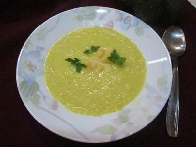 Sopa cremosa de maíz