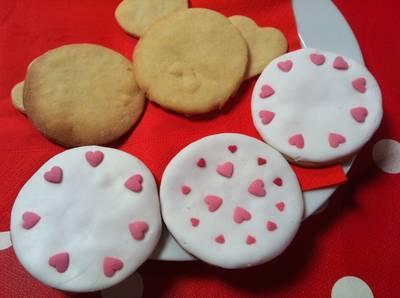 Galletas fáciles de San Valentín