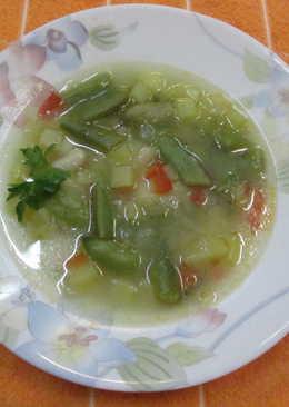 Sopa de legumbres y judías