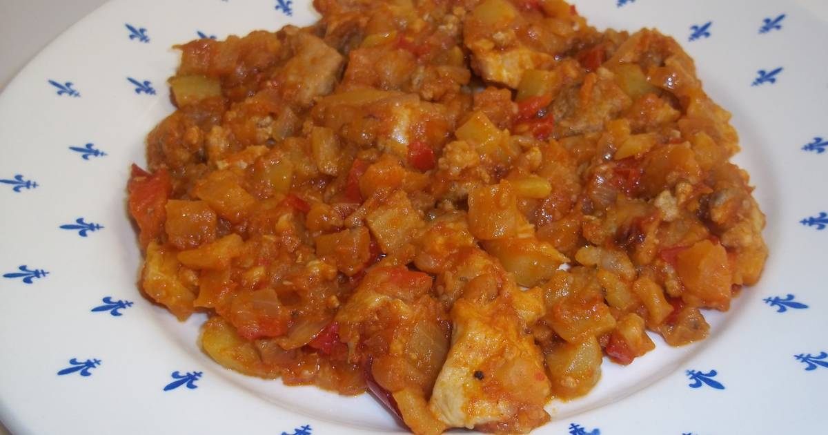 Guarniciones para carne de cerdo 89 recetas caseras - Guarniciones para carne en salsa ...