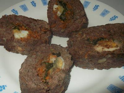 Pan de carne saludable