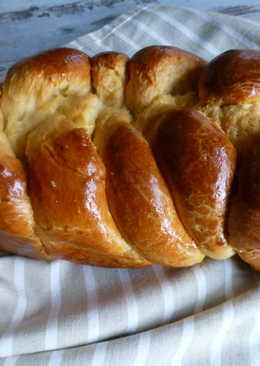 Pan de brioche francés