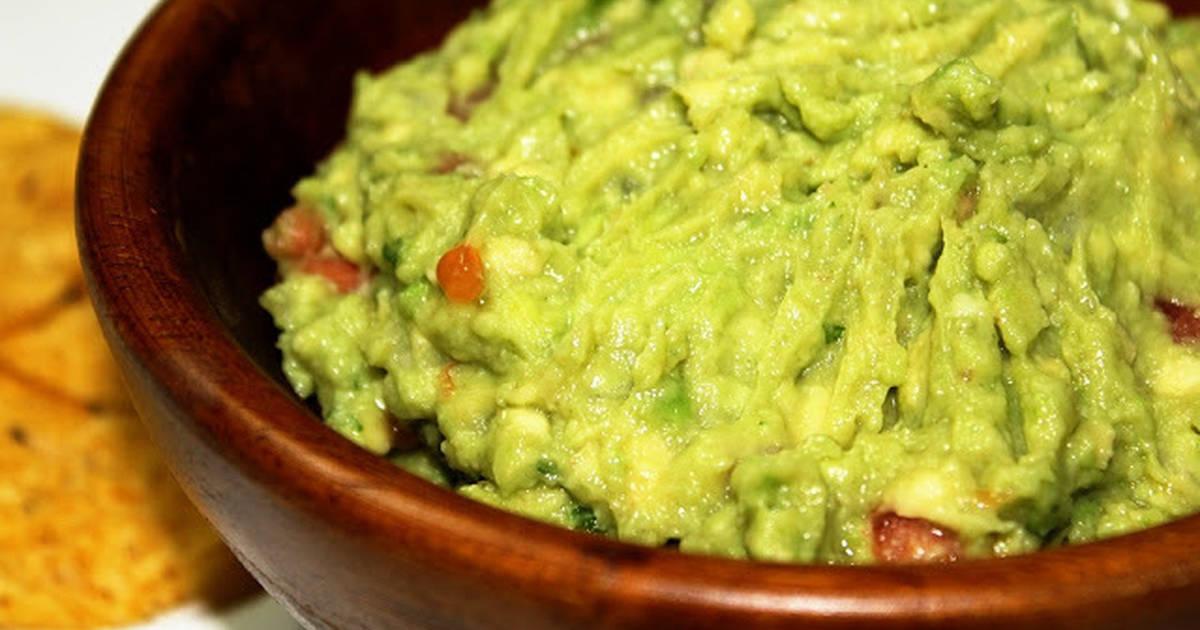 Guacamole con perejil receta de ivygonzalez3 cookpad for Maduras en la cocina