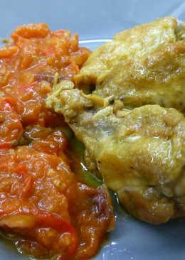 Pollo con jengibre y lima
