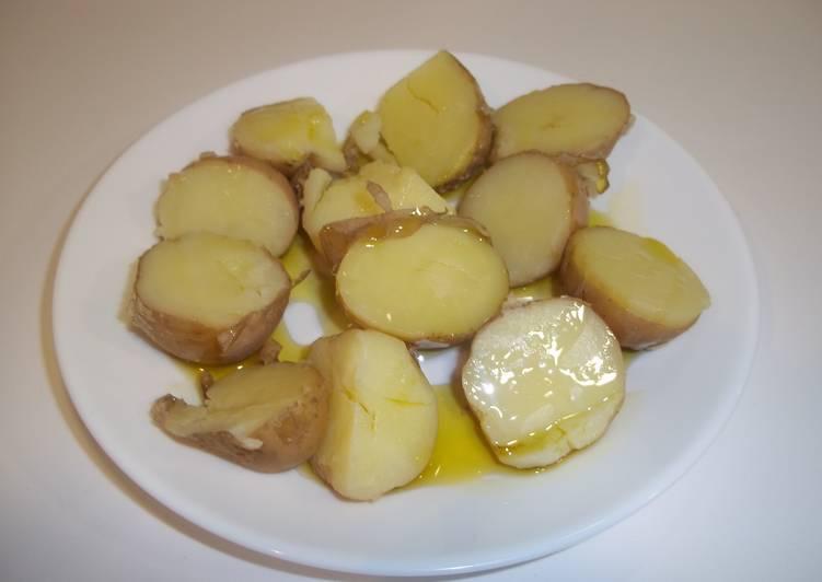 Cocer las patatas con piel receta de kiko cookpad - Tiempo para cocer patatas ...