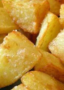 Patatas asadas con alioli