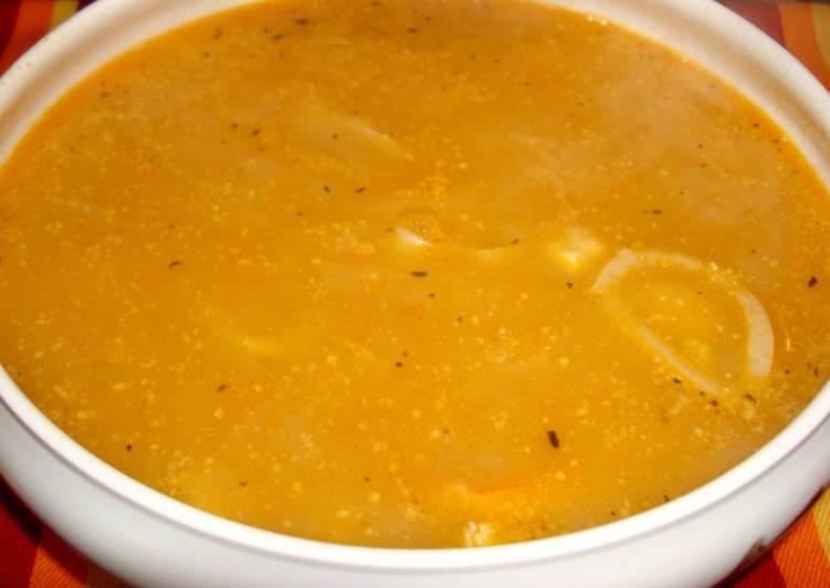 Sopa de pescado y mariscos receta de mpilas cookpad - Sopa de marisco y pescado ...