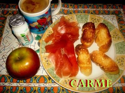 Desayuno saludable para dieta
