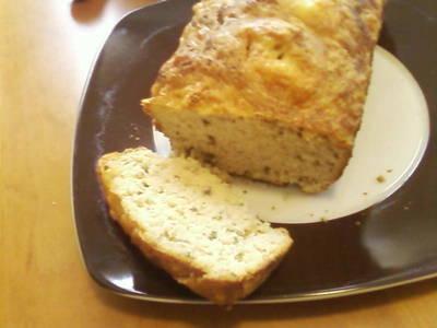 Pan de hierbas y queso