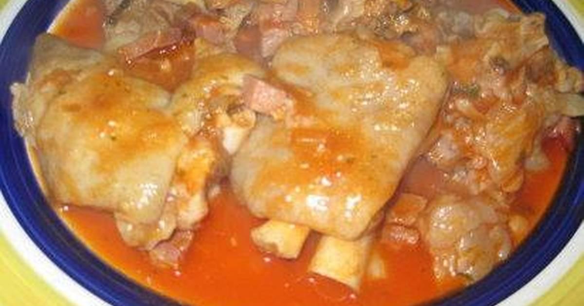 Manitas de cerdo de la abuela sabina receta de yojana55 for Cocinar patas de cerdo