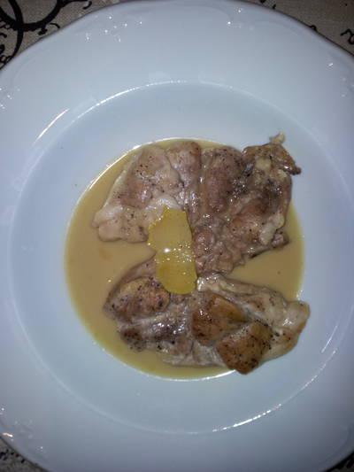Pollo al limón ligero, rápido y fácil