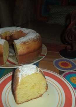 Torta de limón y aceite de oliva