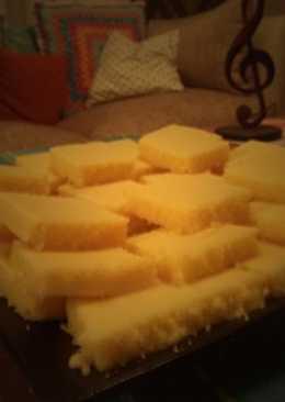Cuadrados dulces y esponjosos