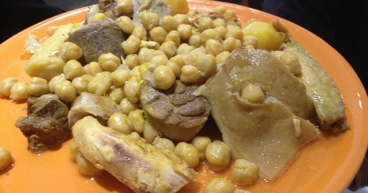 Cocido andaluz receta de mis recetas cookpad - Preparacion de garbanzos cocidos ...