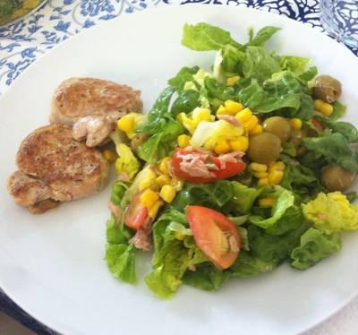Cena saludable en 10 minutos