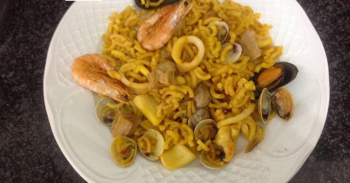 Pasta con chirlas 11 recetas caseras cookpad - Espaguetis con chirlas ...