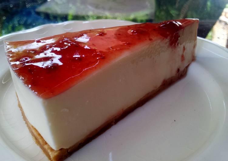 Tarta de queso ligera y sin horno Receta de MariCruzM ...