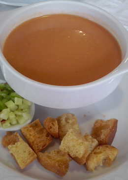 Gazpacho andaluz rápido y saludable