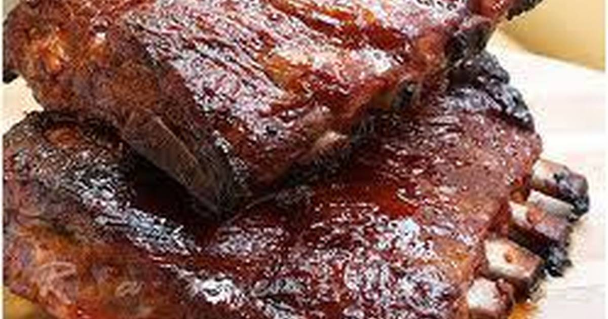 Carne al horno con barbacoa receta de graciela martinez cookpad - Carnes rellenas al horno ...