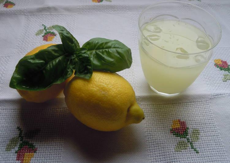 Limonada hecha en casa