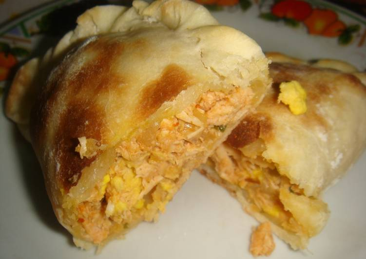 Image result for grande empanada con pollo receta