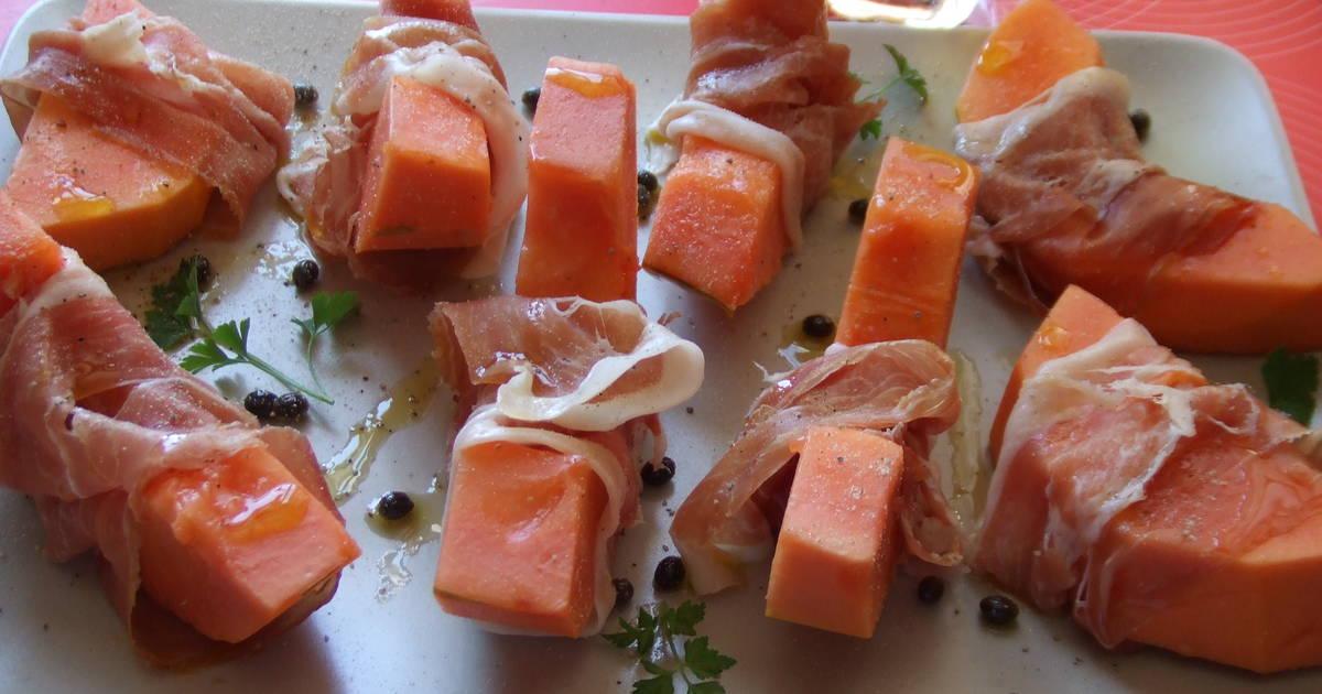 Recetas de papaya de espa a 52 recetas caseras cookpad - Platos con jamon iberico ...