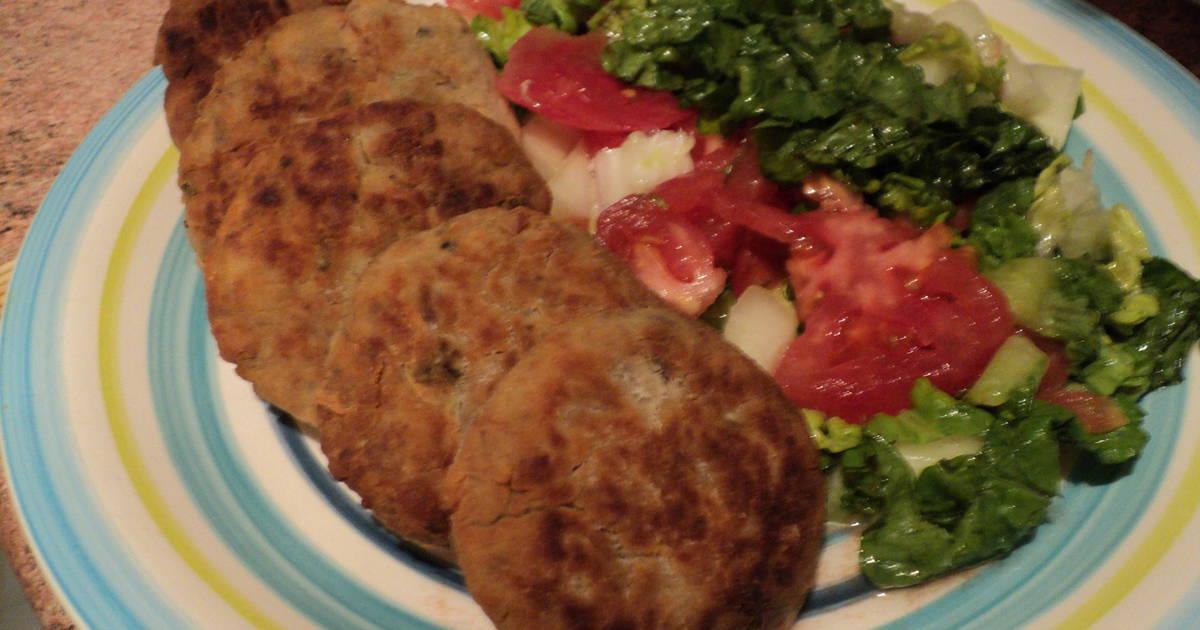 Hamburguesas de jurel receta de mari562009 vinamar cookpad for Cocinar jurel