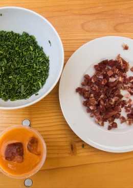 Gazpacho andaluz con batidora