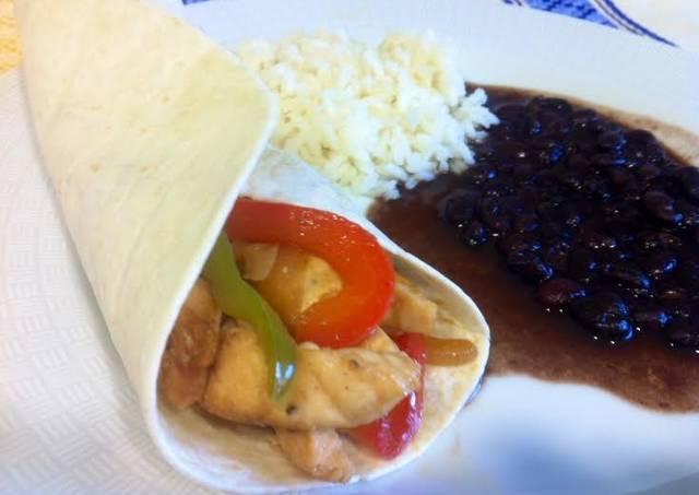 Fajitas de pollo Tex-Mex