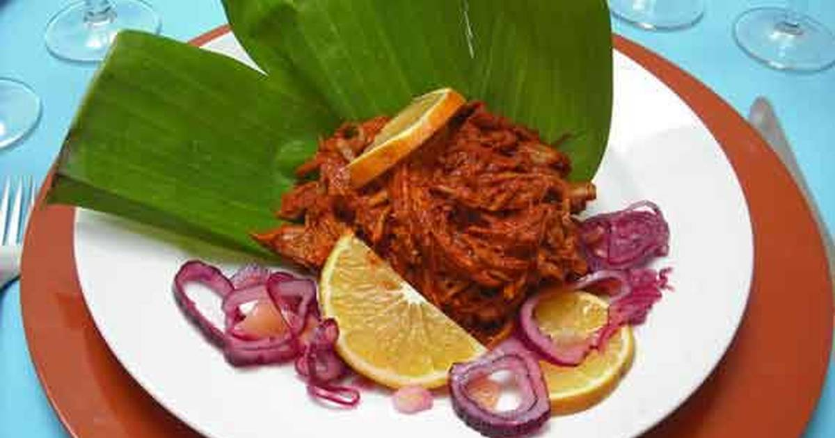 receta de pollo pibil yucateco
