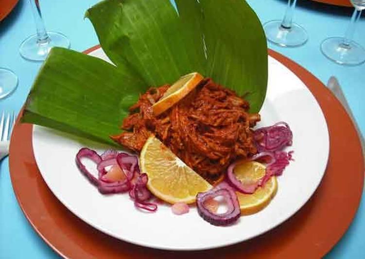 cochinita pibil estilo yucateca receta de chefencalada - cookpad