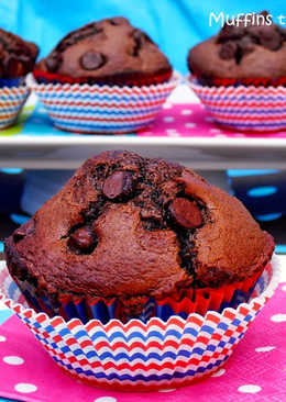 Muffins triple chocolate