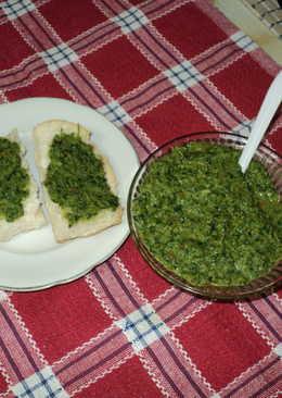 Salsa picante para untar y acompañar carnes a la parrilla