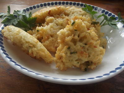 Fritos de arroz