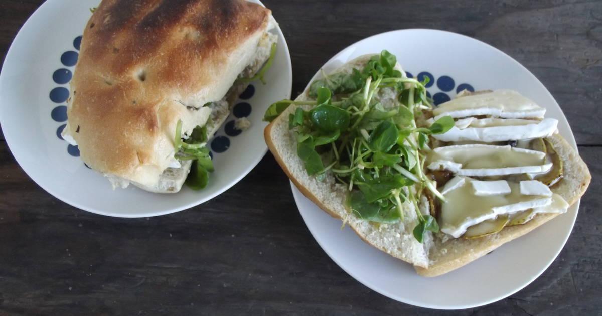 Sandwich de berros - 5 recetas caseras - Cookpad