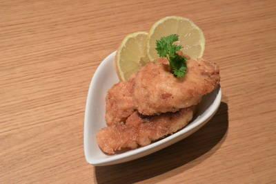 Pollo al limón sin gluten o lactosa