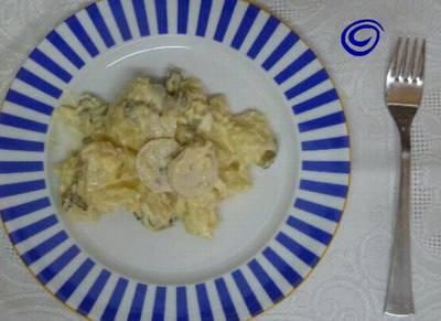Kartoffensalad o ensalada de patata, típica alemana