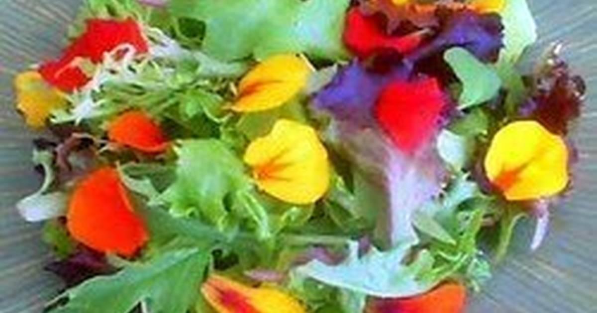 Ensalada De Flores Receta De Ferran Cookpad