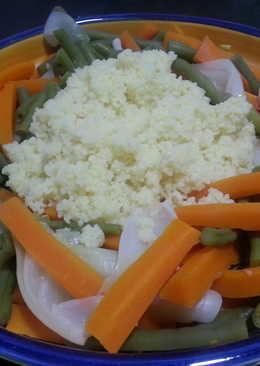 Verduras con couscous
