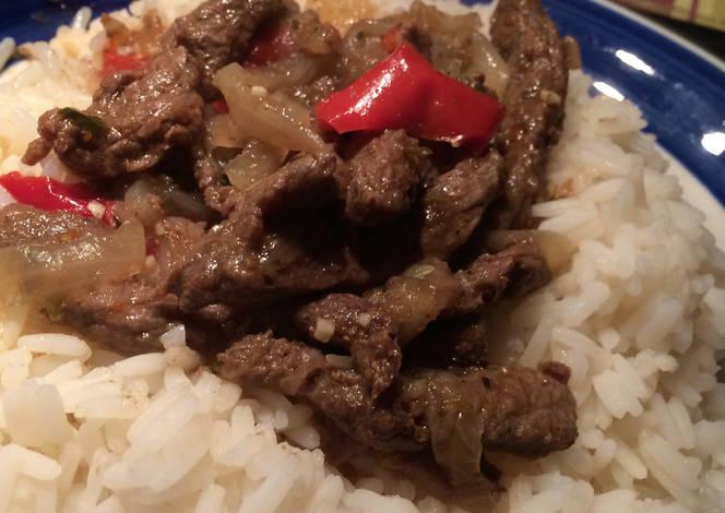 Receta inferior de carne asada