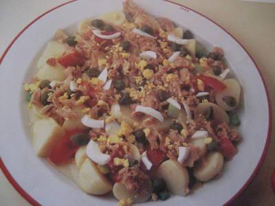 Salpicón de patatas