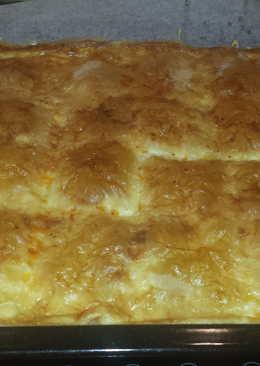 Pasta filo con quesos