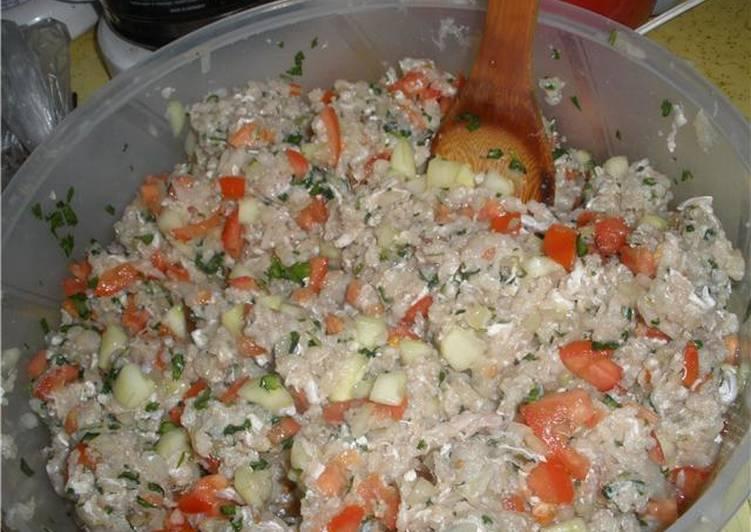 Ceviche de pescado blanco