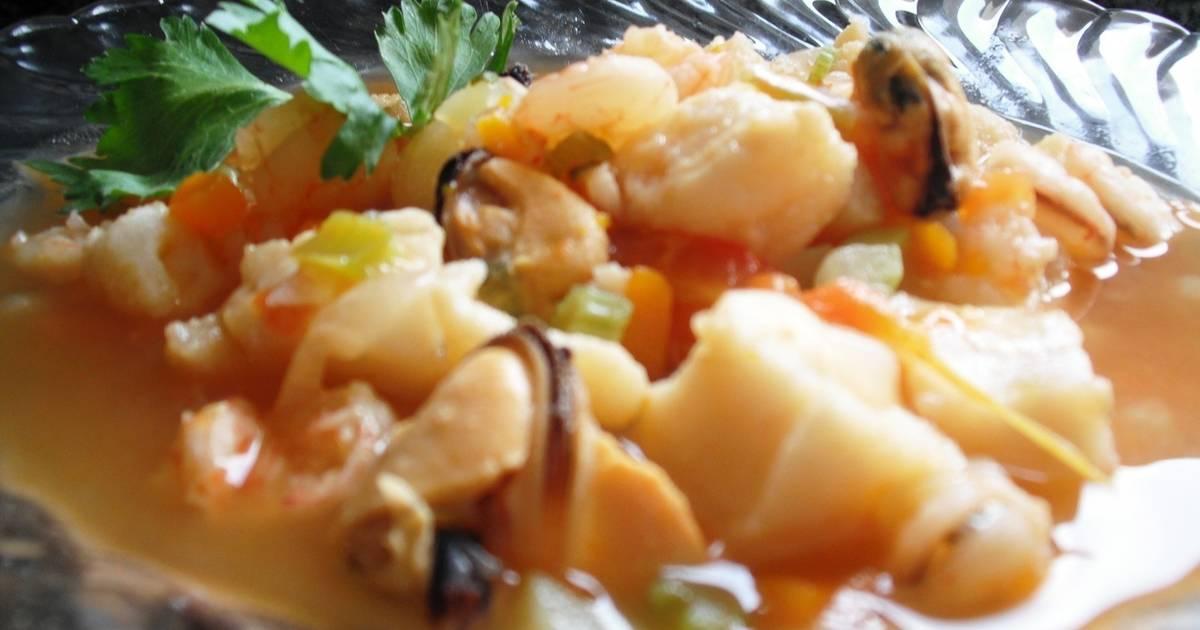 Caldo 7 mares mejjicanna receta de maggie cookpad for Cocinar 7 mares