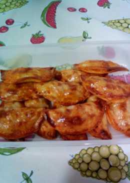 Empanadillas rápidas de atún, huevo y tomate