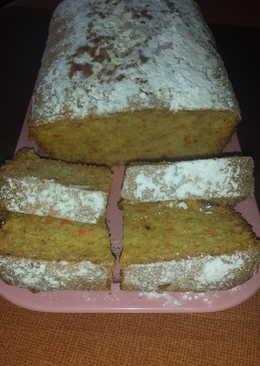 Plum cake de zanahoria