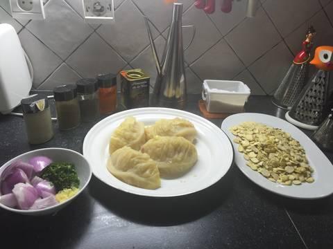 Pur de habas secas con col bisara receta for Como cocinar habas secas